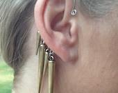 Gold Spike Ear Wrap