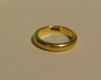 Wedding Ring 18k Gold Wedding Band