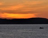 Sunrise over Grand Traverse Bay