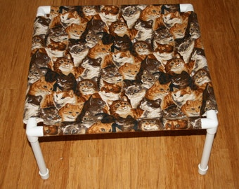 The Pet Hammock, Cotton Flannel, Brown Cats