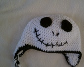 jack skeleton crocket hat