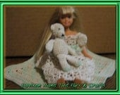 Kelly Fashion Doll 3 pc. Nightgown with Teddy and Afghan