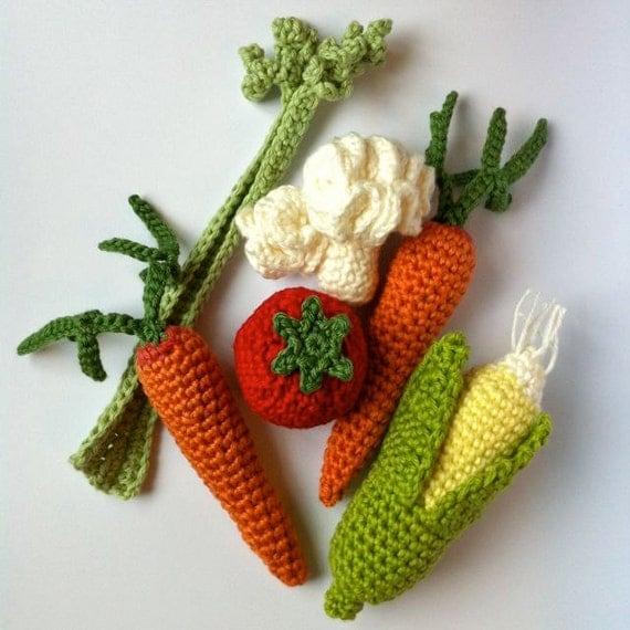 Crochet Fruit & Vegetables / Crochet Vegetables / Seasons / Eco ...