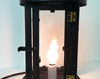 "10"" Electric Desktop Copper lantern"