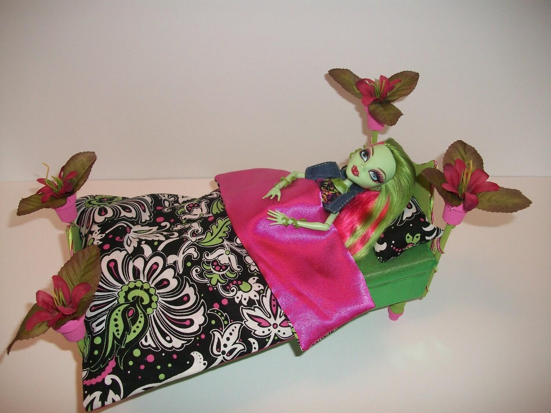 Furniture For Monster High Dolls Handmade Bed For Venus