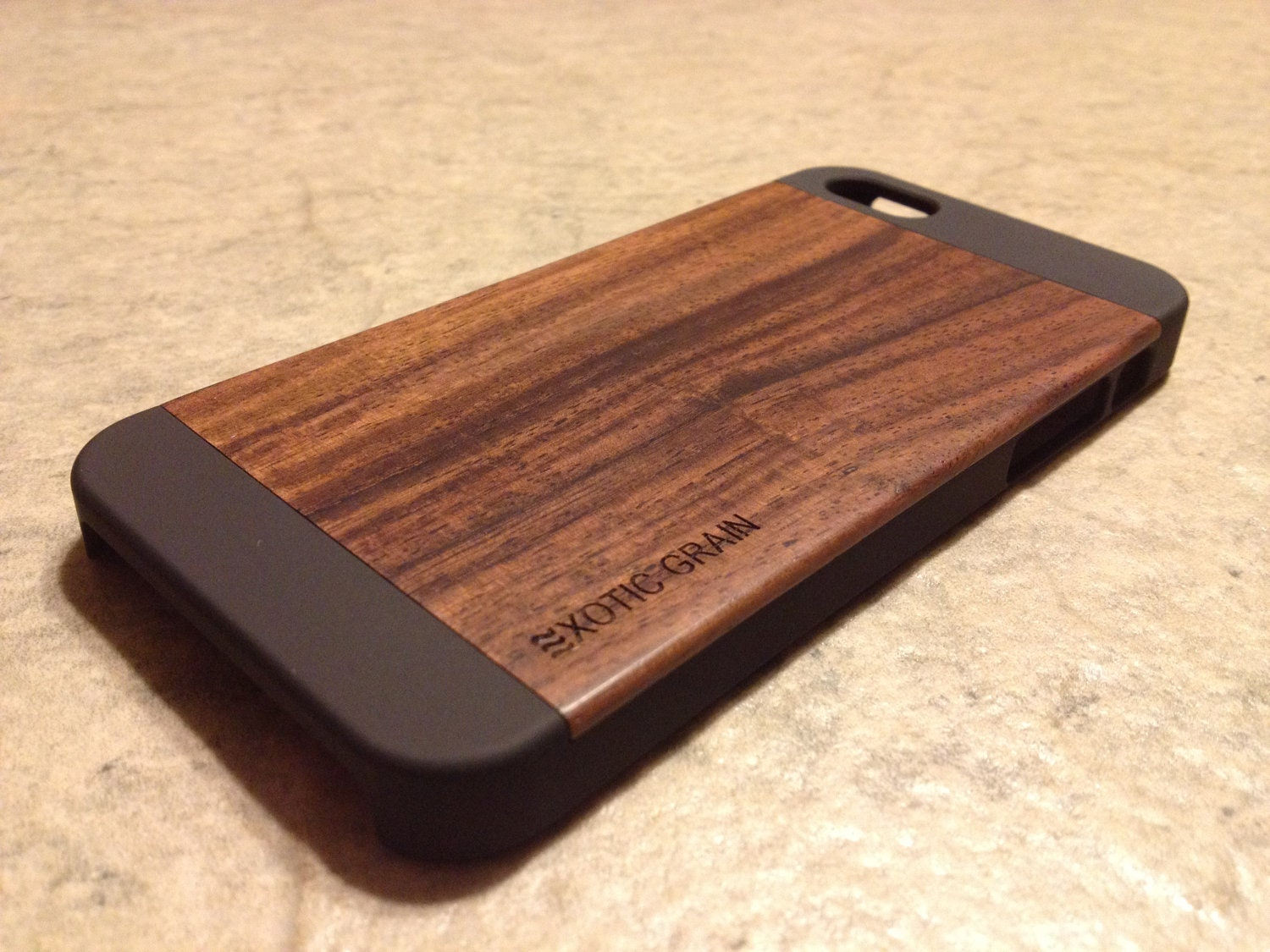 wood iphone 5 case iphone 5 5s real wood rich polished bois de 6486