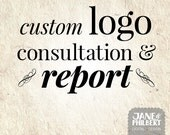 Custom Logo Design Consultation and Design Assessment Report Package