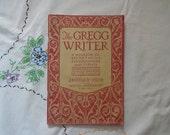 The Gregg Writer Vintage Magazine for Secretaries Great Ads January 1930 Office Typewriter Ephemera