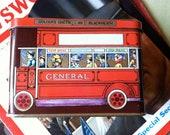 Vintage Bus Tin - Van Houtten Cocoa