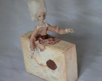 Artist doll - Letter. OOAK