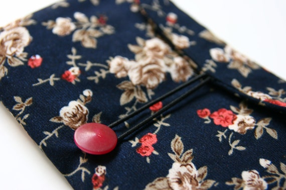 Handmade fabric wallet, functional wallet with lots of pockets, big wallet