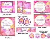 Disney Princess Party Package - Sleeping Beauty Party Package - Aurora Party Package - Birthday Party Printable