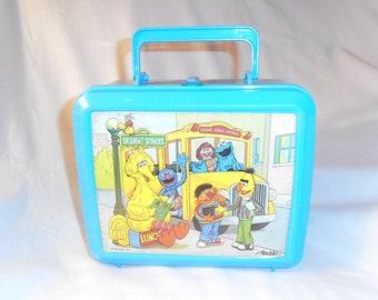 Sesame Street Plastic Lunch Box