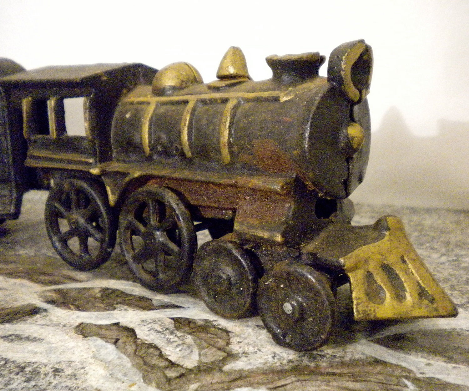Nycrr Cast Iron Train: Cast Iron Train Set Washington 44