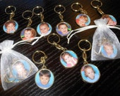 personalized photo key chain, picture key chain.