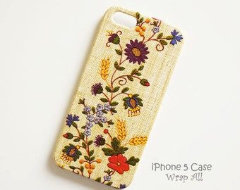 Floral Needle Work Print iPhone 6S case iPhone 6 case iPhone 5S case iPhone 5 case iPhone 4S case iPhone 4 case