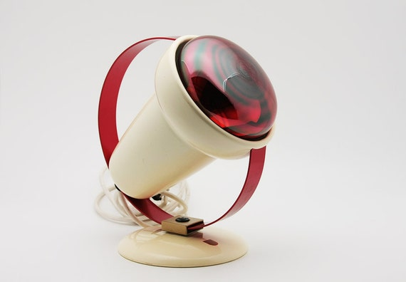 Vintage Spot Infraphil warming lamp designed by Charlotte Perriand for Philips (1950s)