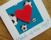 Match of the day football (or soccer!) card