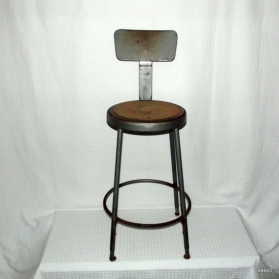 Vintage Industrial Factory Assembly Line Metal Stool SALE 18% OFF See Shop for Coupon Code