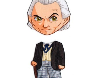 Mix and Match Magnets: First Doctor (Doctor Who)