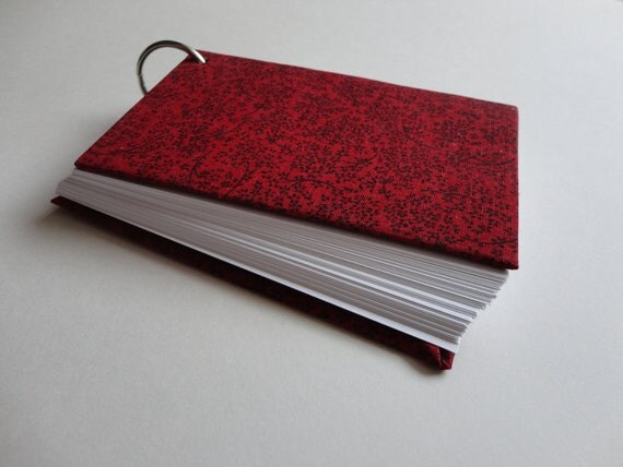 Mini Notebook Binder, Paper Jotter