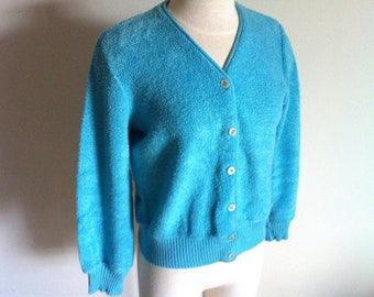 Women's Sweater Cardigan Sweater Vintage Sweater Zipper