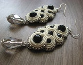 ivory Soutache Earrings