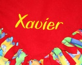 Personalize Sesame Street blanket