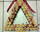 Decorative Christmas Wine Cork Wreath