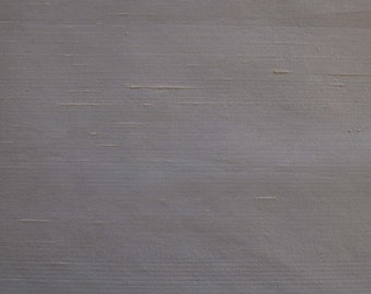 Transparent Champagne White Silk Dupiony Fabric - Listing for 1 yard & 52""