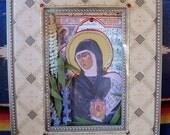 St. Hildegard of Bingen Retablo