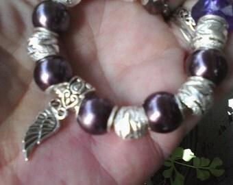 Shining flight, Euro style bracelet