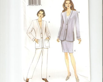 UNCUT Vogue Sewing Pattern 9177 for Jacket, Skirt and Pants, Sz 14-16-18