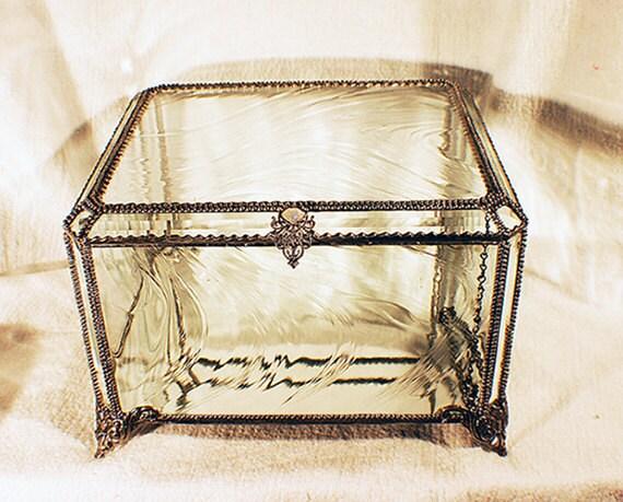 Wedding Bouquet Keepsake Treasure Box -  Faberge Style