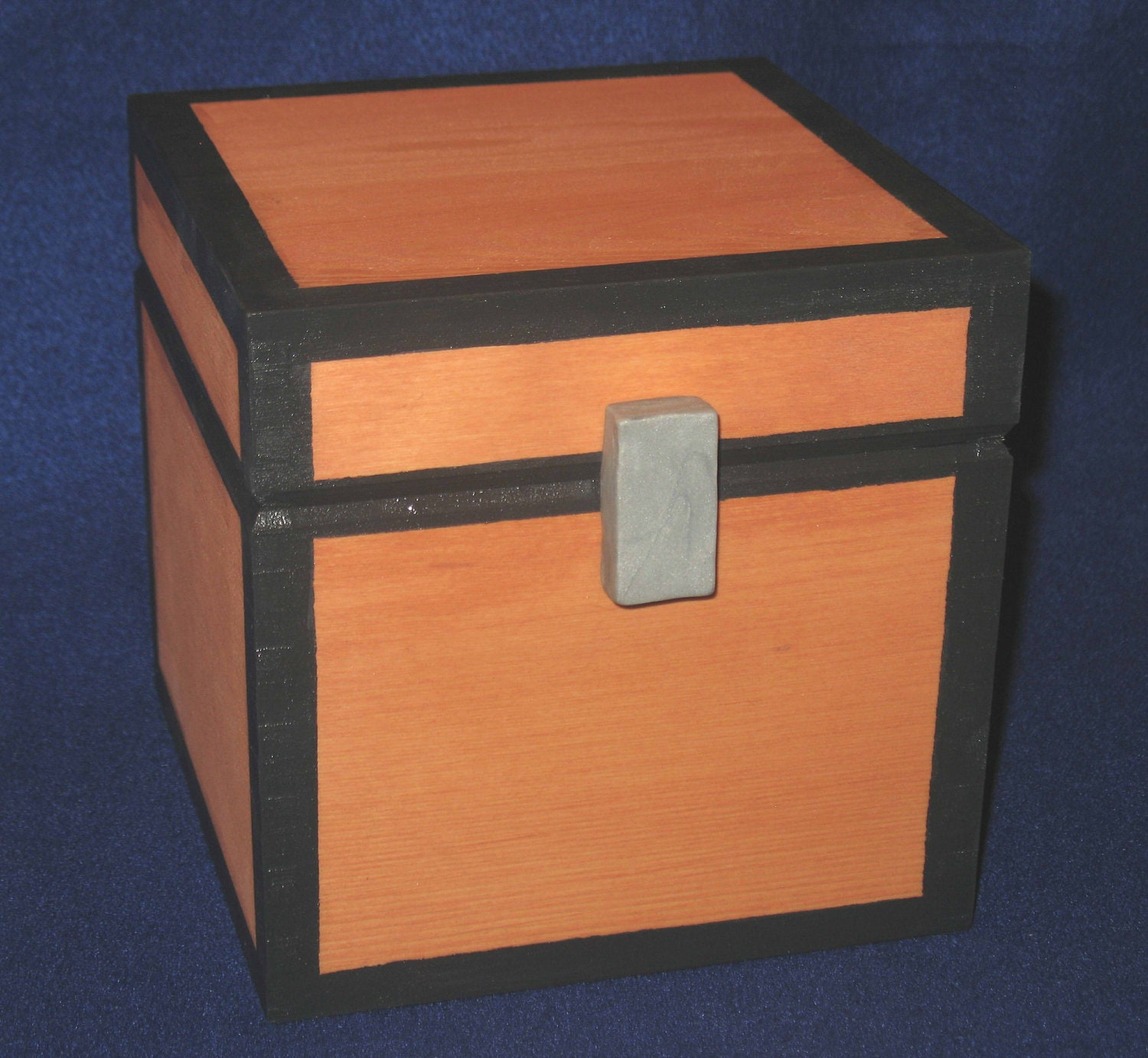 Minecraft-Inspired Chest Working Wooden Prop and Storage