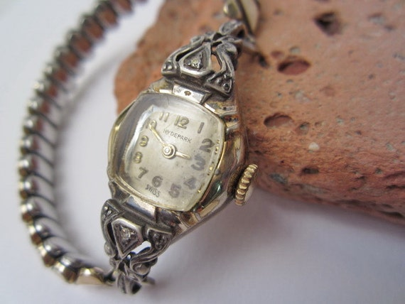 HYDEPARK SWISS // Old Watch // Vintage Watch // Ladies Watch //