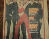 RARE 1979 Rolling Stone Magazine Blondie Collectible FREE SHIPPING