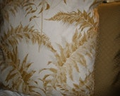 "Pillow Covers - 20"" Pr. Gold Leaf"