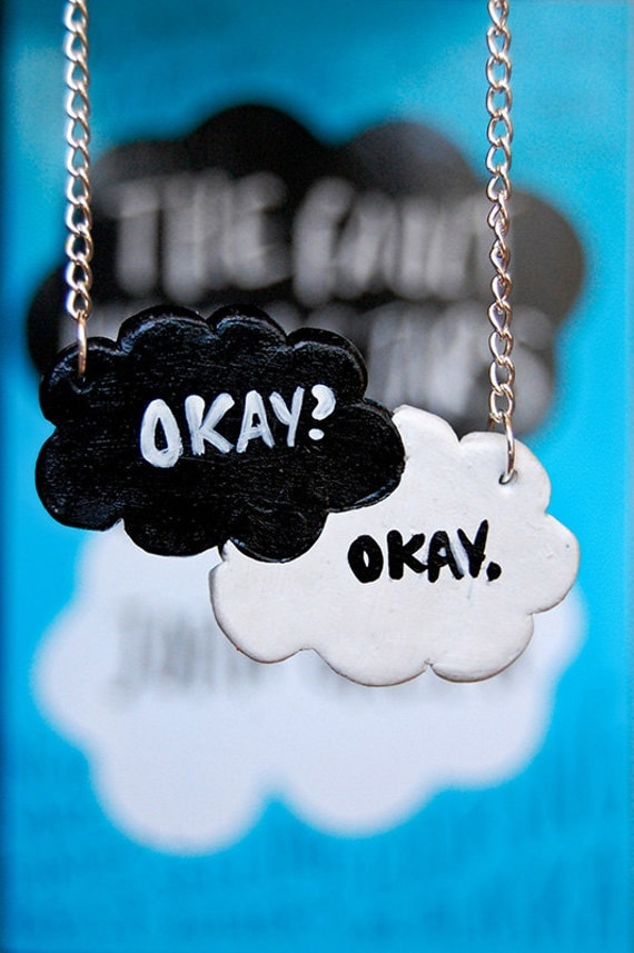 Okay. Okay. TFiOS Inspired Chain Necklace.