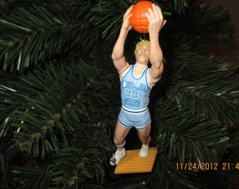 Larry Bird Indiana State SEE DESCRIPTION custom basketball christmas ornament many to choose from.