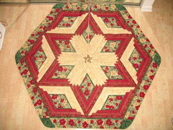 Christmas Tree Skirt  Quilt  Winter Impressions 109