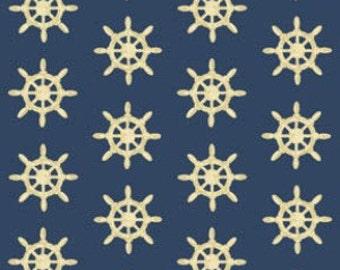 Benartex fabric Ships Wheels