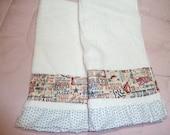 America The Beautiful Patriotic Decorative Hand Towels (Set of 2)