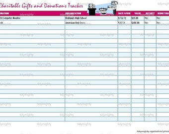 Monthly Bill Organizer Tracker Printable Pdf Instant