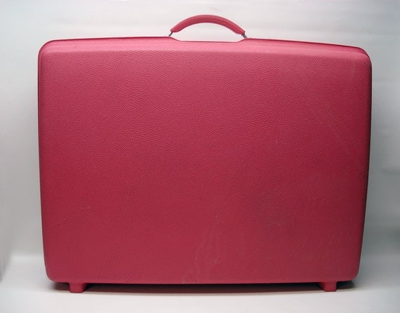 Reserved for M -- Bubblegum pink suitcase by Samsonite