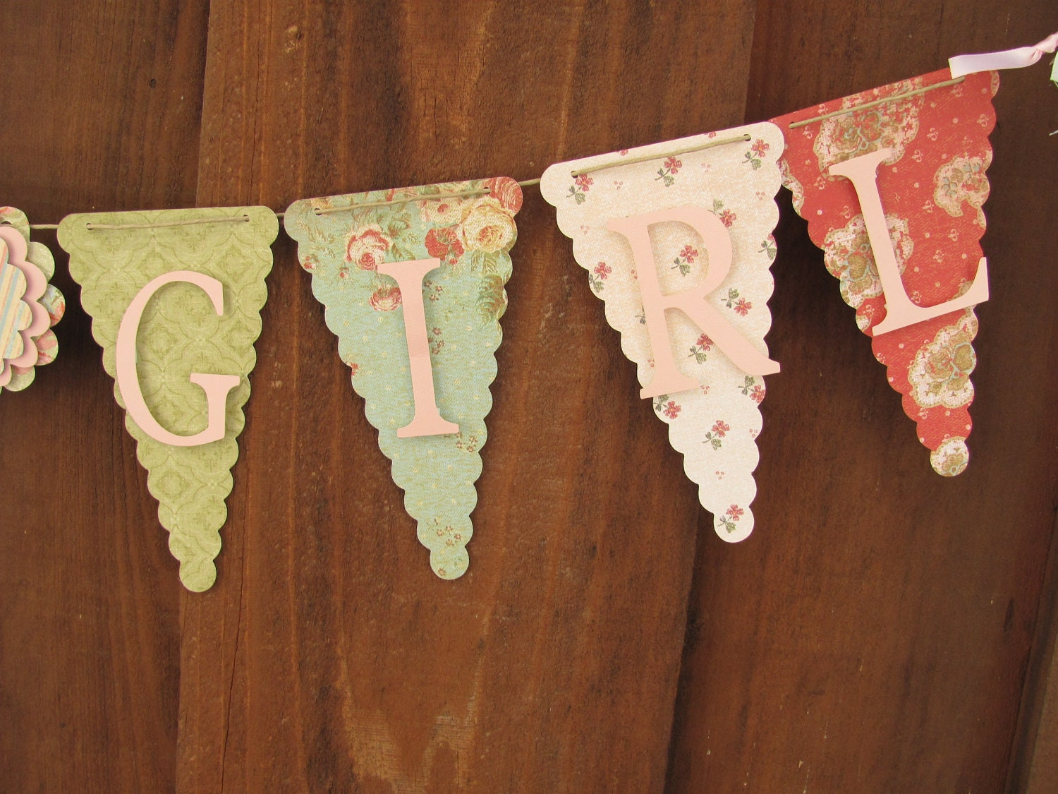 Its a girl banner baby shower banner baby shower decorations for It s a girl dekoration
