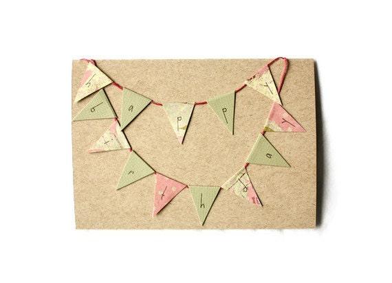 HAPPY BIRTHDAY BUNTING Birthday Card
