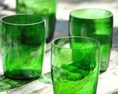 Recycled Drinking Glass, Glass Bottles, Perrier Bottle Drinking Cup