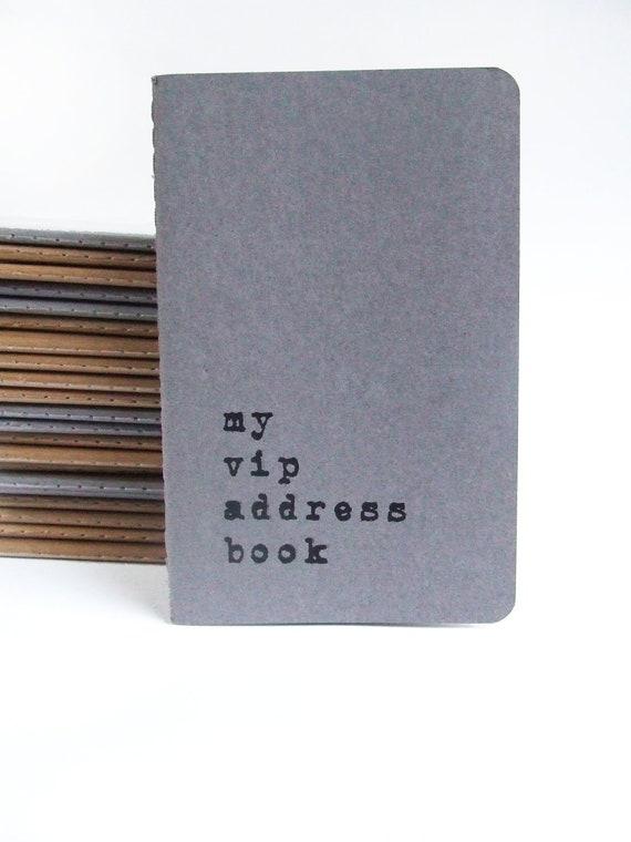 my adress book: