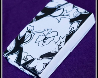 Earring Cards / Boxes - Black Diamond Flower (50)